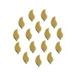 Leaf 5x10 mm Gold
