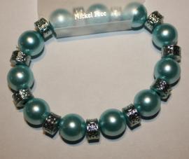 Licht blauwe armband