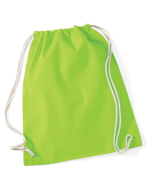 Katoenen gymtas Lime Green