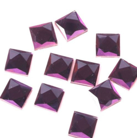 Square Amethyst 6x6 mm