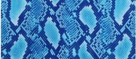 Fantasy Flex Bleu Snake 30x49 cm