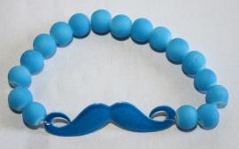 Neon armband Blue Kruis