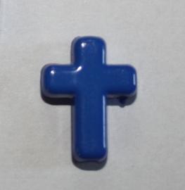Kraal Kruisje Cobaltblauw