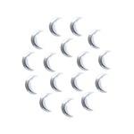 Moon 3x10 mm Silver