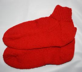 Rode sokken maat 36/37