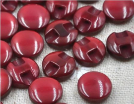 Acryl Cateye Red 12 mm