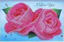 Rose Rozen 23,5x14,5 cm