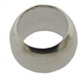 Knijpkraal zilverkleurig 2,5 mm