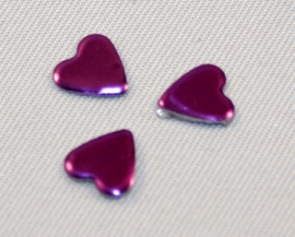 Heart 6x7 Purple