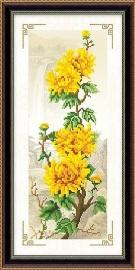Gele Takken 28x60 cm