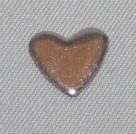 Heart Silver 10x10 mm