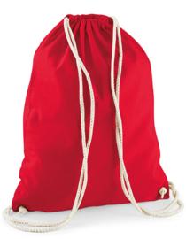 Katoenen gymtas Red