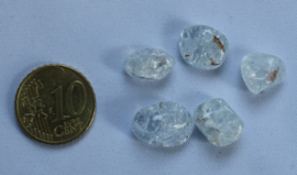 Craquele glaskraal Crystal