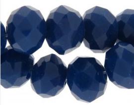 Facetkraal donkerblauw