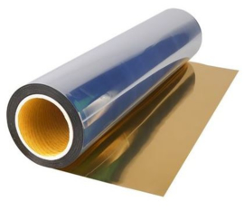 Soft Metallic Flex Goud 30x50 cm