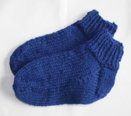Cobaltblauwe sokken maat 24/25