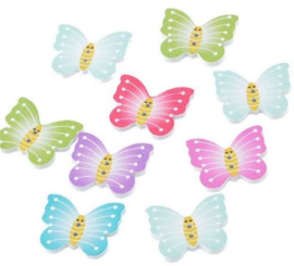 Houten Vlinders 10 stuks