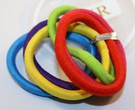 Kleurige elastieken