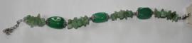 Groene Natuurstenen armband