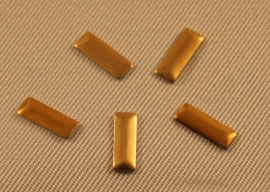 Retangle Gold (2,5x7mm)