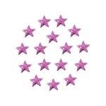 Star 5x5 Fuchsia
