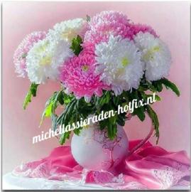Diamond Painting Boeket bloemen 40x40 cm