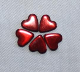 Heart 6x7 Dk-Siam