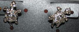 Schildpad oorbellen