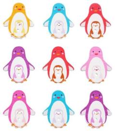 Houten Pinguin 10 stuks