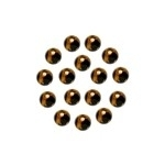 JF Round Gold 4 mm