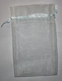 Organza zakjes Lt-Blue 8,5x14 cm