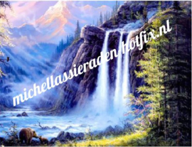 Waterval 50x60 cm