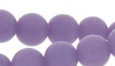 Kraal Imitatie edelsteen rond  Lila 3 mm