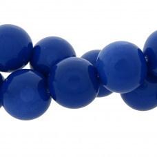 Glaskraal rond blauw