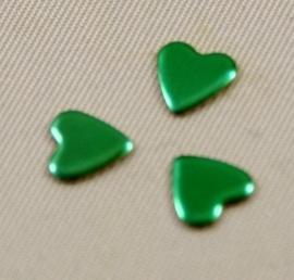 Heart 8x8 mm Green