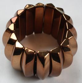 Bronsbruin kleurige armband