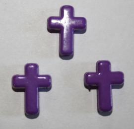 Kraal Kruisje Paars