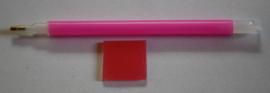 Magic Pickup Pen met achterzijde voor 3 steentjes incl. wax