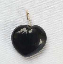 Glaskraal Hart Zwart