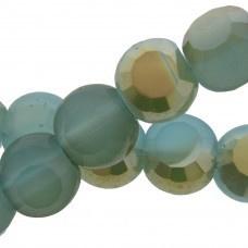 Glaskraal Facet Aqua Blauw/groen AB