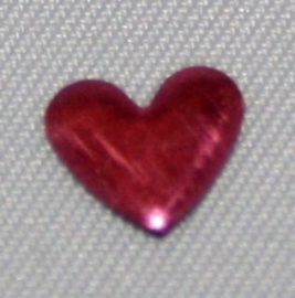 Heart Rose 6x7 mm