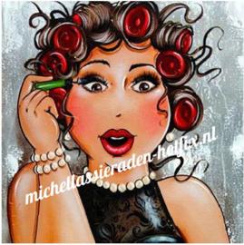 Diamond Painting In de Make-up 40x40 cm