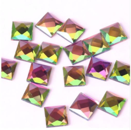 Square Rainbow 4x4 mm DMC