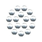 FS Nailheads Rond Silver 10 mm