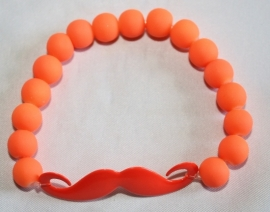 Neon armband Orange Snor