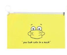 Etui voor mondkapje Yellow