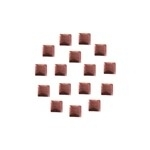 Square 5x5 mm Rose