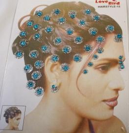 Hair & Body glitters Blue