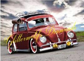 VW kever 40x50 cm