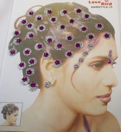 Hair & Body glitters Purple